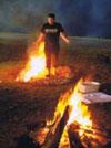 Marche-sur-le-feu